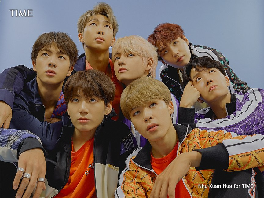 """.@halsey on @BTS_twt: """"Behind those three letters are seven astounding young men who believe that music is stronger than the barriers of language. It's a universal dialect"""" #TIME100 http://mag.time.com/SReCx1E"""