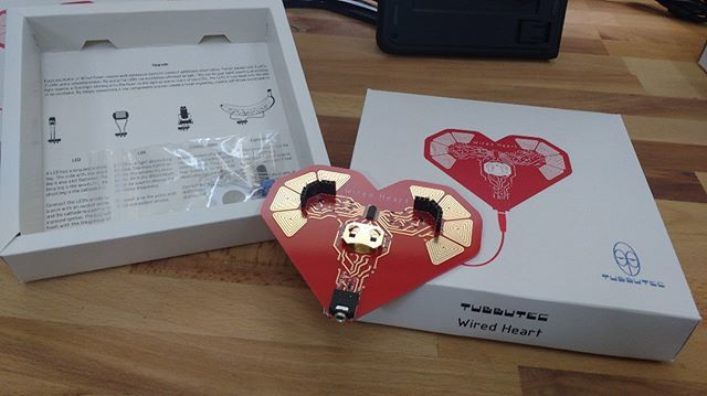 Tubbutec on Twitter quotWired Heart will soon get its own nice box  Prototypes arrived today  wiredheart gadget electronic synth  noisemusic noisesynth circuitbending ataripunkconsole dronesynth  dronemusic electronics experiamental https