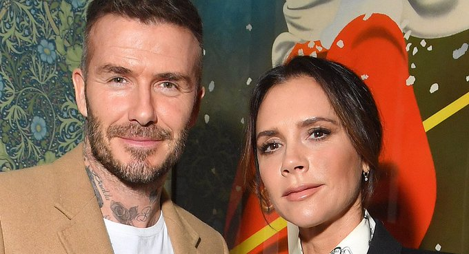 David Beckham and sons wish Victoria a happy birthday with gushing tributes