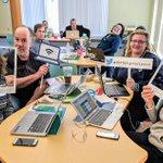 Image for the Tweet beginning: Dedicated educators over Feb break