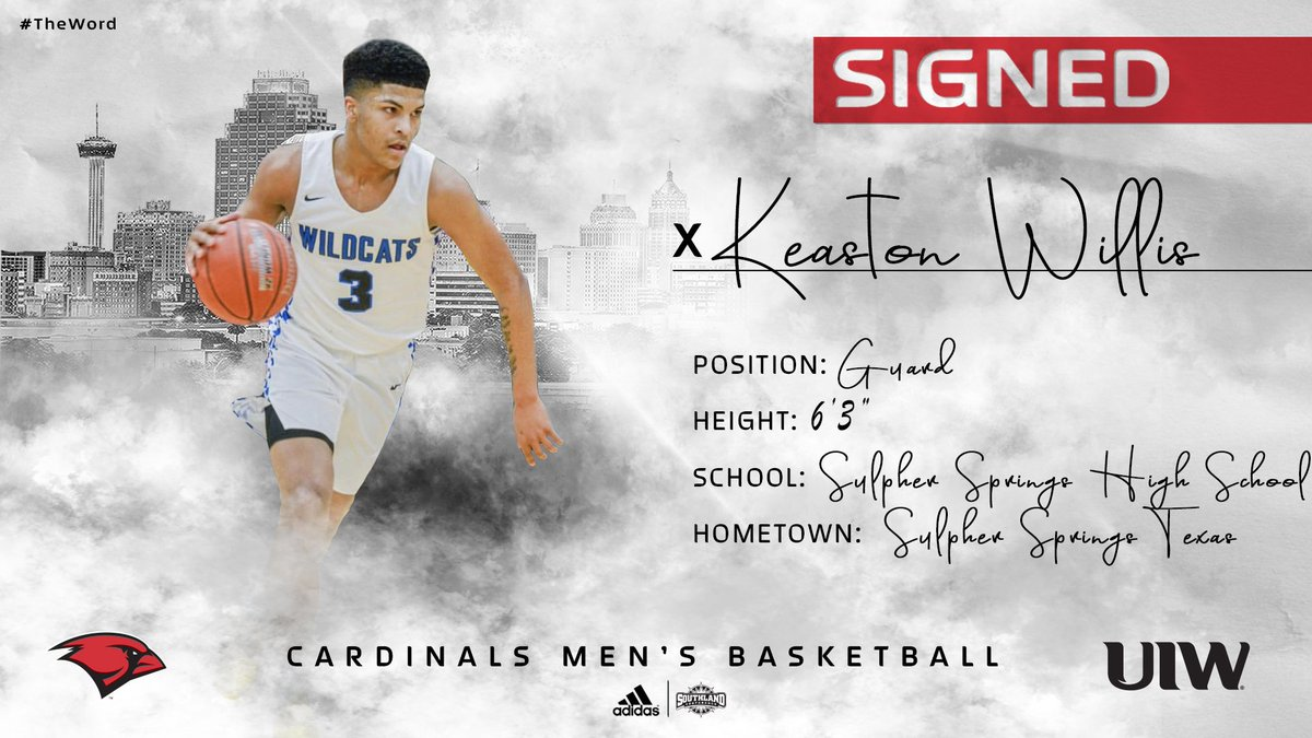 ✍️SIGNED  Welcome in Keaston Willis!  A dynamic scoring guard whose vision and outside stroke will be a serious problem for defenders next season.  #TheWord #WelcomeToTheNest