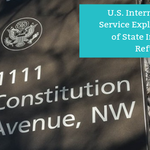In a news release and revenue ruling issued on 29 March, 2019, the IRS provided detailed guidance on how to determine whether refunds of state income taxes for 2018 and subsequent years are taxable. Read more: https://t.co/u3h6lS0vwC
