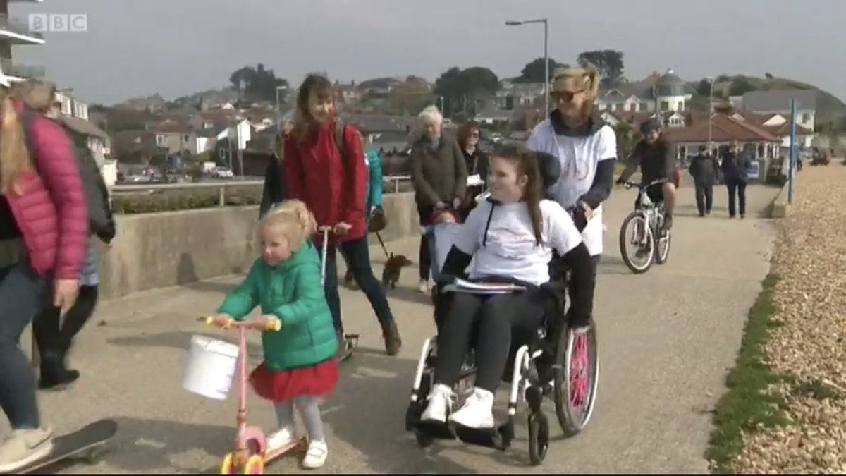 Pleased to have helped #BBC @annavarle with this package about FND sufferer Kate. #freelance #broadcast #cameraman #cameraoperator #dorset #dorchester #weymouth #tv #news #vj