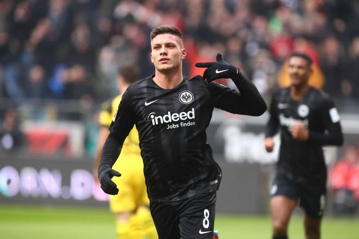 SL Benfica 🇫🇷's photo on Luka Jovic