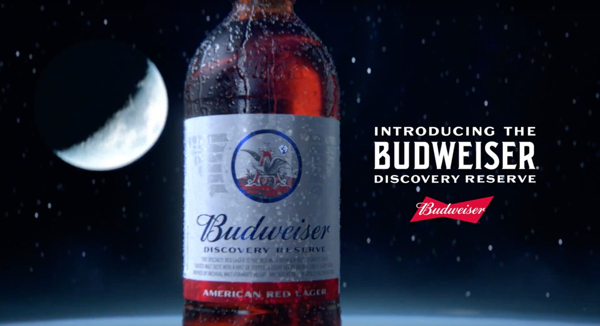 Tastes like space and beer. But mostly beer. Introducing #DiscoveryReserve. #SpaceBeer