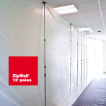 Image for the Tweet beginning: ZipWall® 12 are the prime