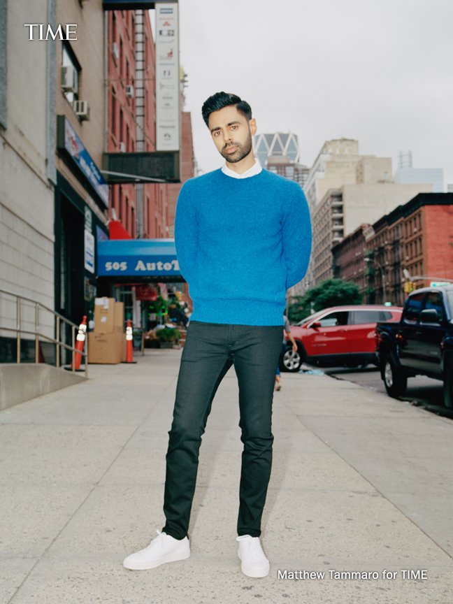 ".@Trevornoah: ""'Patriot Act' is the manifestation of Hasan's whip-smart commentary, charisma and sincerity. It's also a consistent reminder that @hasanminhaj is America. And America is Hasan."" #TIME100 http://mag.time.com/l4hcojW"