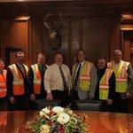 Image for the Tweet beginning: We met with Missouri Senate
