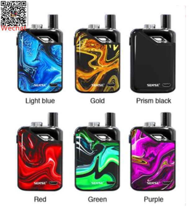 Good news: Sense Orbit TF Pod System Starter pre-order now ! 1)1100mAh battery with button-triggered system 2)3ml Refillable pod with convenient top fill system 3)Advanced Soft/Normal/Strong working modes 4)Two different coils for both DL and MTL vaping