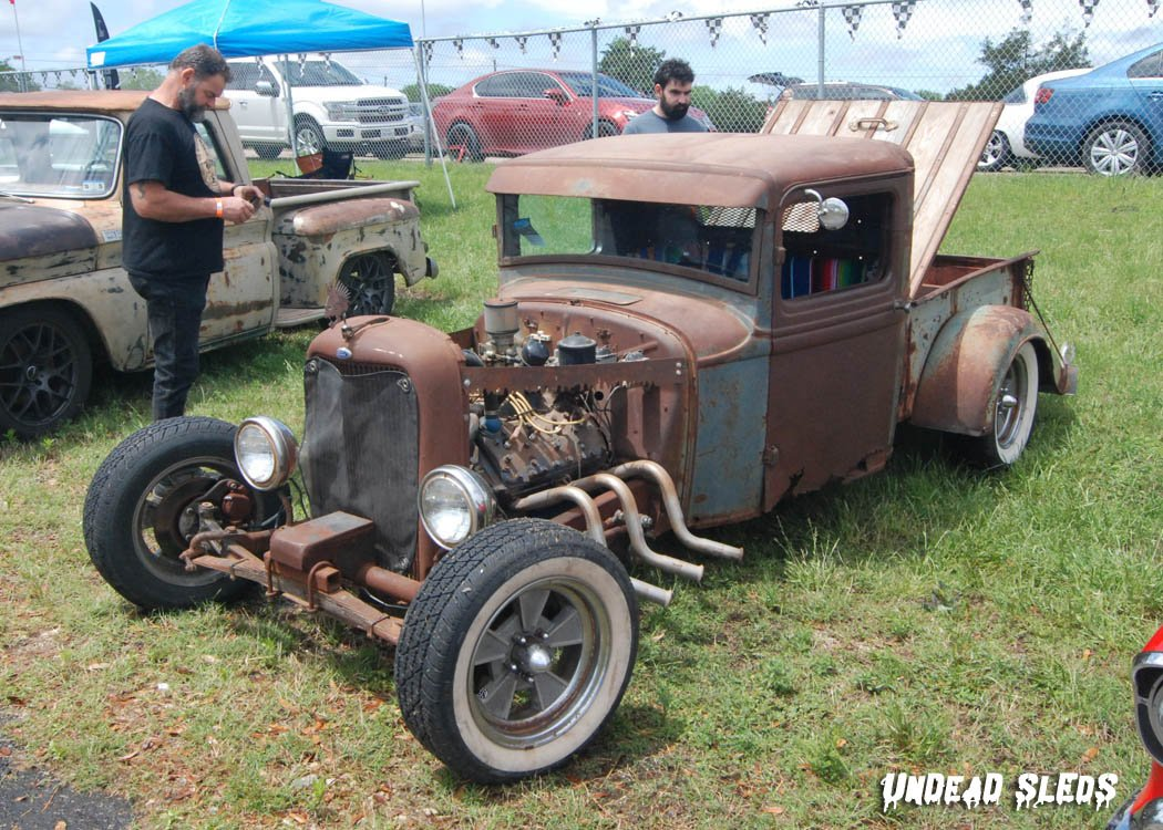 #Car Awesome of the Day: #Steampunk-ish ⚙️ Rusty #RatRod #HotRod 🔧 via @UndeadSleds #SamaCars 🚗