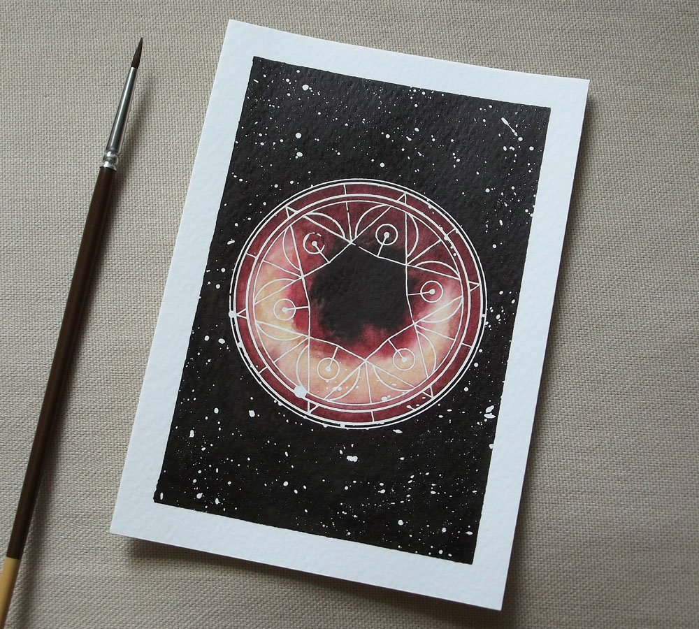 Black hole spell - for when you need a little help from the void <br>http://pic.twitter.com/pjhmZA5f46