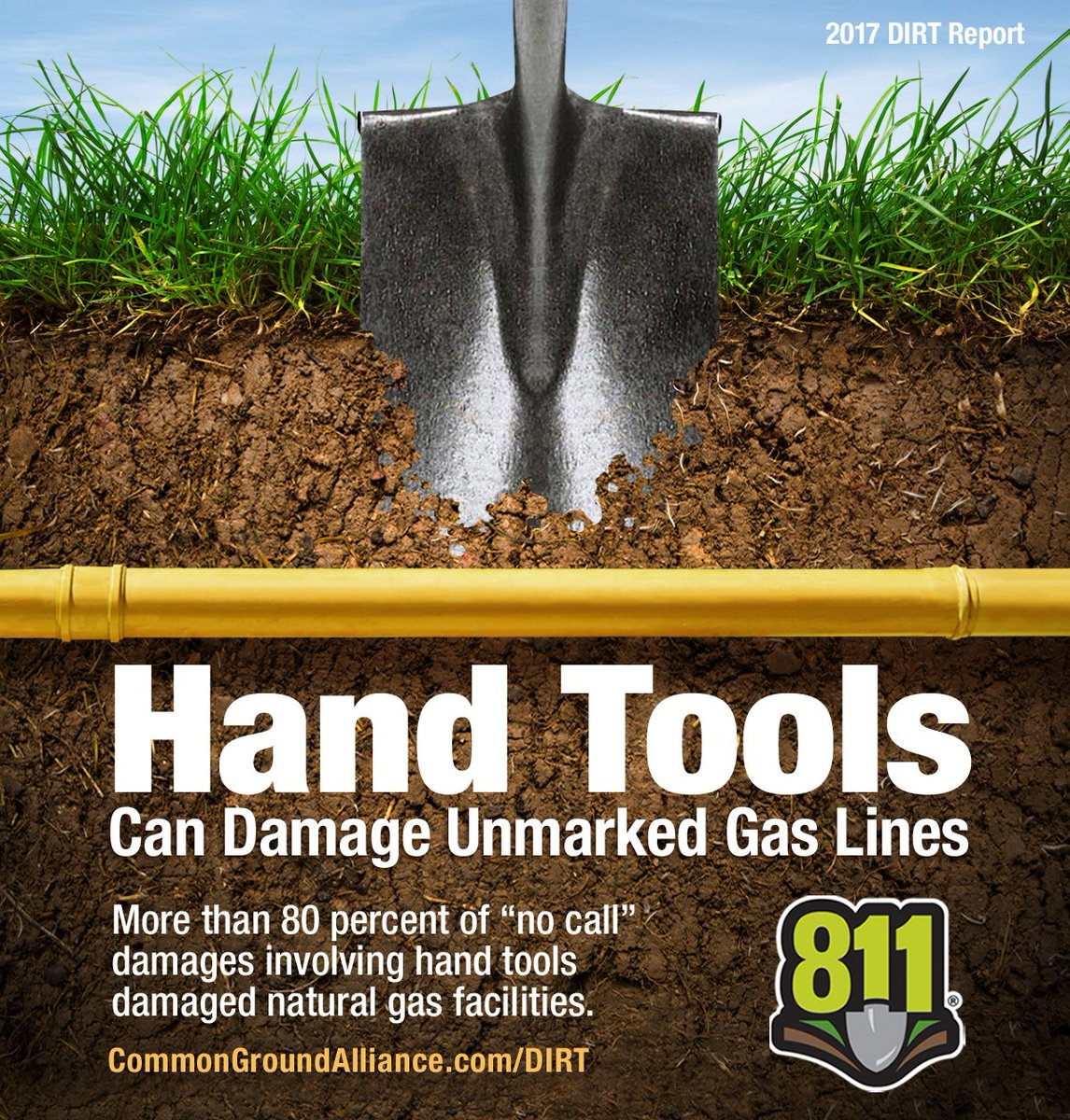 """test Twitter Media - """"Know what's below"""" and make the call to 8-1-1 to find out where underground utilities are located on your property. #Call811 https://t.co/AuB9sUwshB"""