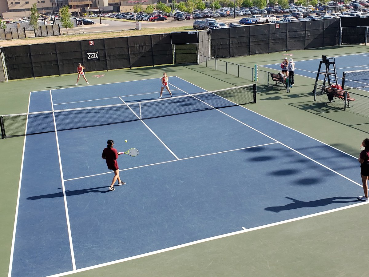 North Side competing in girls doubles versus Justin Northwest!
