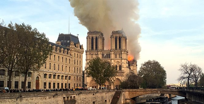 """Architects and historians wonder: Maybe the new Notre Dame should be less """"overburdened"""" with Christian meaning https://hotair.com/archives/2019/04/17/architects-historians-wonder-maybe-new-notre-dame-less-overburdened-christian-meaning/?utm_source=Twitter&utm_medium=social&utm_term=architects-historians-wonder-maybe-new-notre-dame-less-overburdened-christian-meaning&utm_content=0&utm_campaign=PostPromoterPro…"""