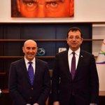 Image for the Tweet beginning: İstanbul Büyükşehir Belediye Başkanı değerli
