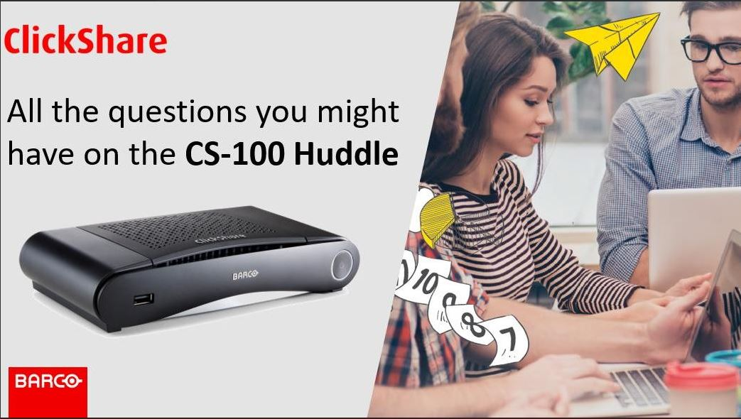 """Barco on Twitter: """"What are the differences between the CS-100 and ..."""