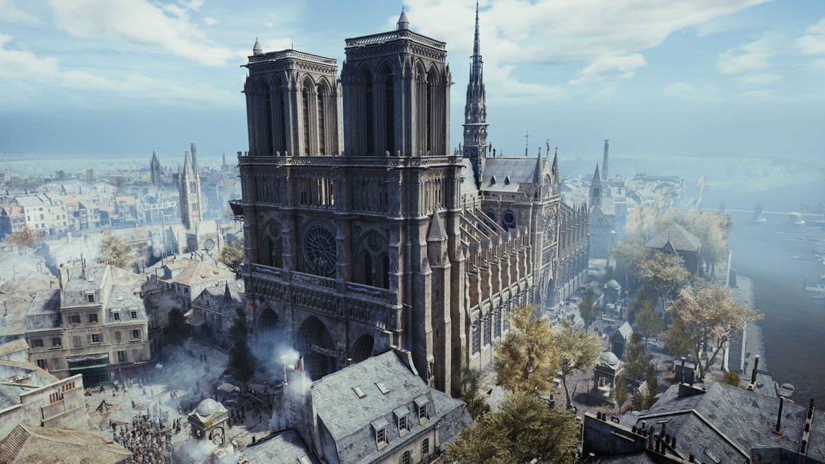 Assassin's Creed FR's photo on Notre-Dame de Paris