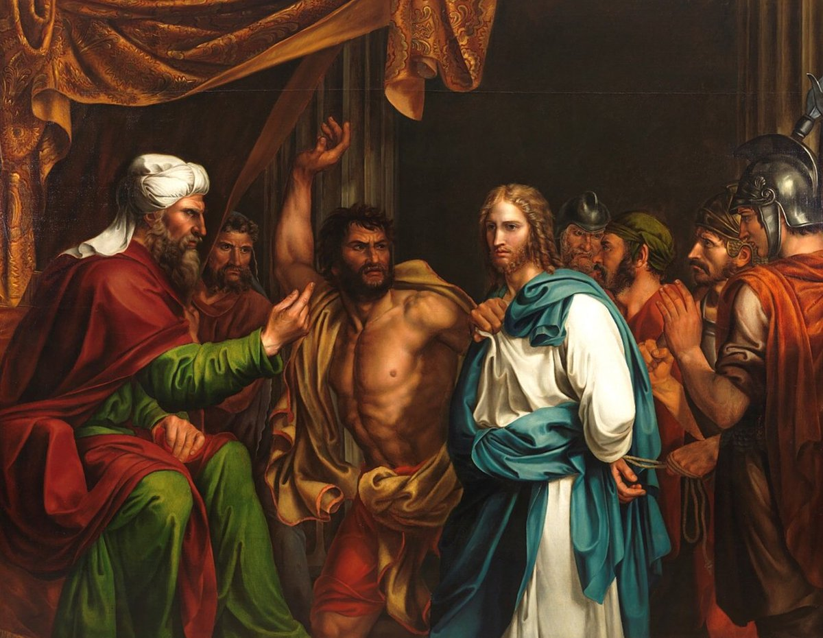 Gospel Acclamation  Glory to you,O Christ,you are the Word ofGod! Hail to you, our King! Obedient to the Father,you were led to your crucifixion as a meek lamb is led to the slaughter. Glory to you,O Christ,you are the Word ofGod!  Sanhedrin Trial ofJesus José de Madrazo y Agudo <br>http://pic.twitter.com/YF3h83JQyY