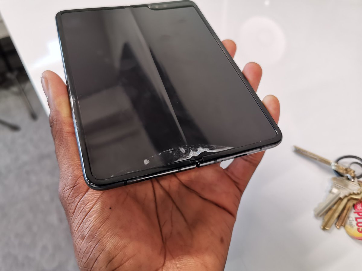 Marques Brownlee's photo on Galaxy Fold