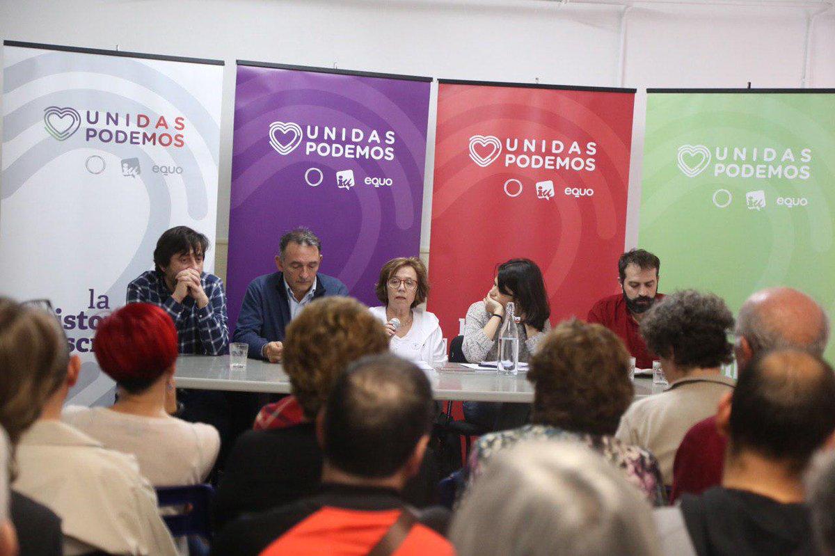 Foto cedida por Unidas Podemos Madrid