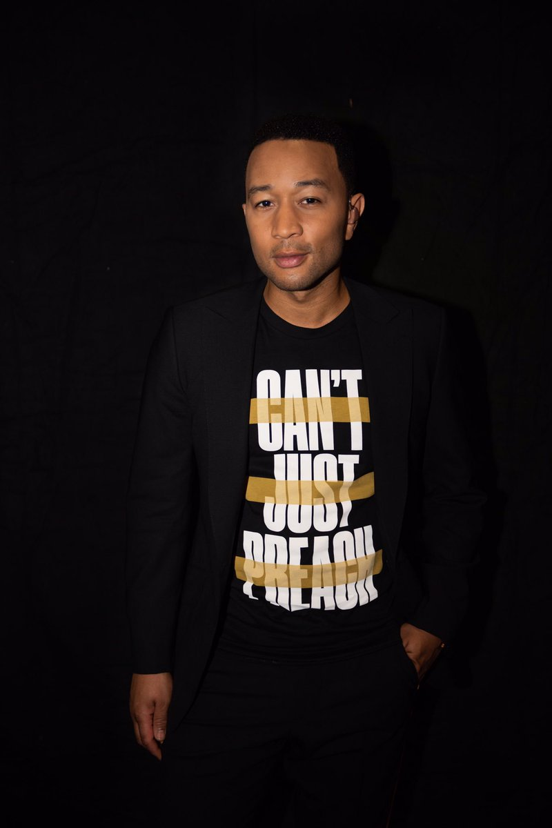 You've heard the stories from some of the people who inspire me, and now I want to know who is inspiring YOU. Nominate changemakers in your community, donate to the causes in the #CantJustPreach series, and get your own #CantJustPreach t-shirt here: http://we.tl/johnlegend