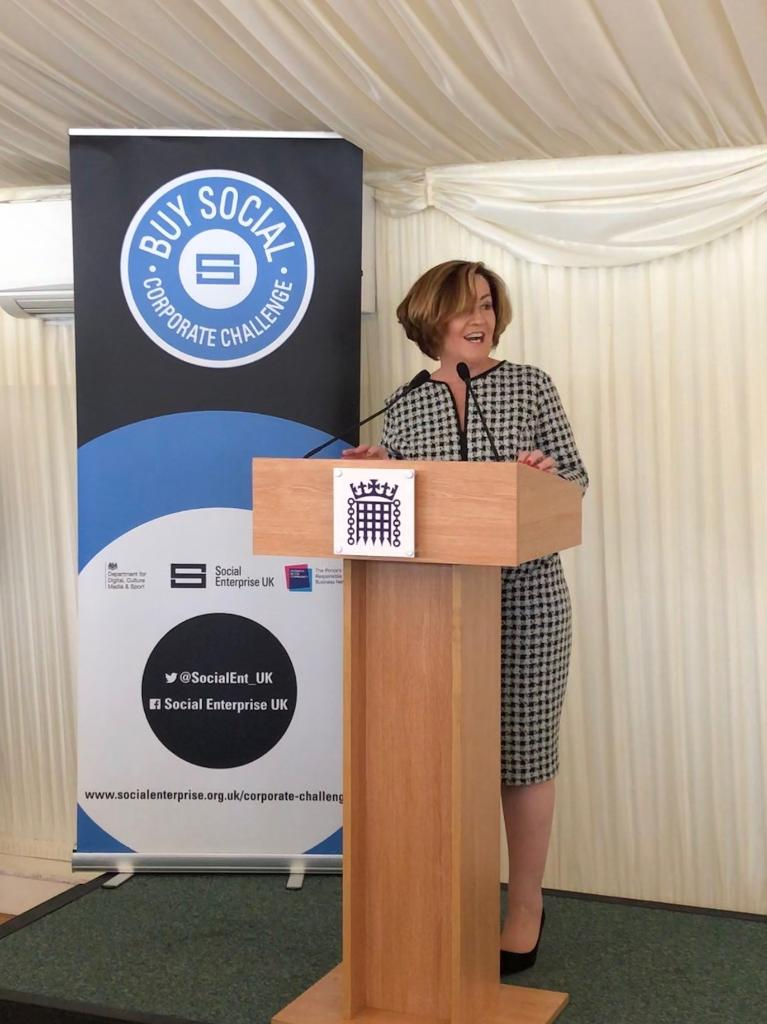 Today we're incredibly excited to be at #Parliament announcing our partnership with @SocialEnt_UK to promote social enterprises through our £2 trillion #Procurement platform @SAPAriba #SocEnt @AdaireFoxMartin - http://sap.to/6017EdNN5