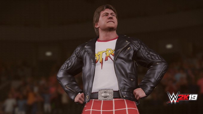 Wishing a special \happy birthday\ to the late, great Rowdy Roddy Piper!