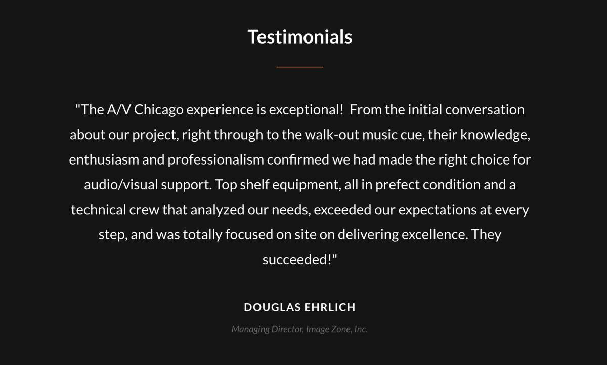 Our #testimonials really do speak for themselves!  #eventprofs #meetingprofs <br>http://pic.twitter.com/Xxb5tNFoDE