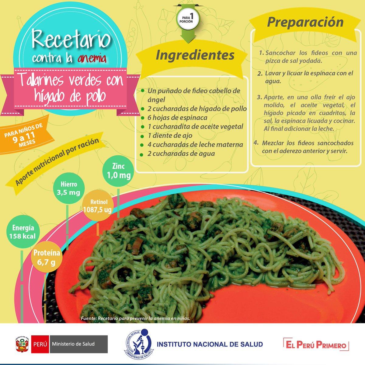 Recetas de espinaca para la anemia