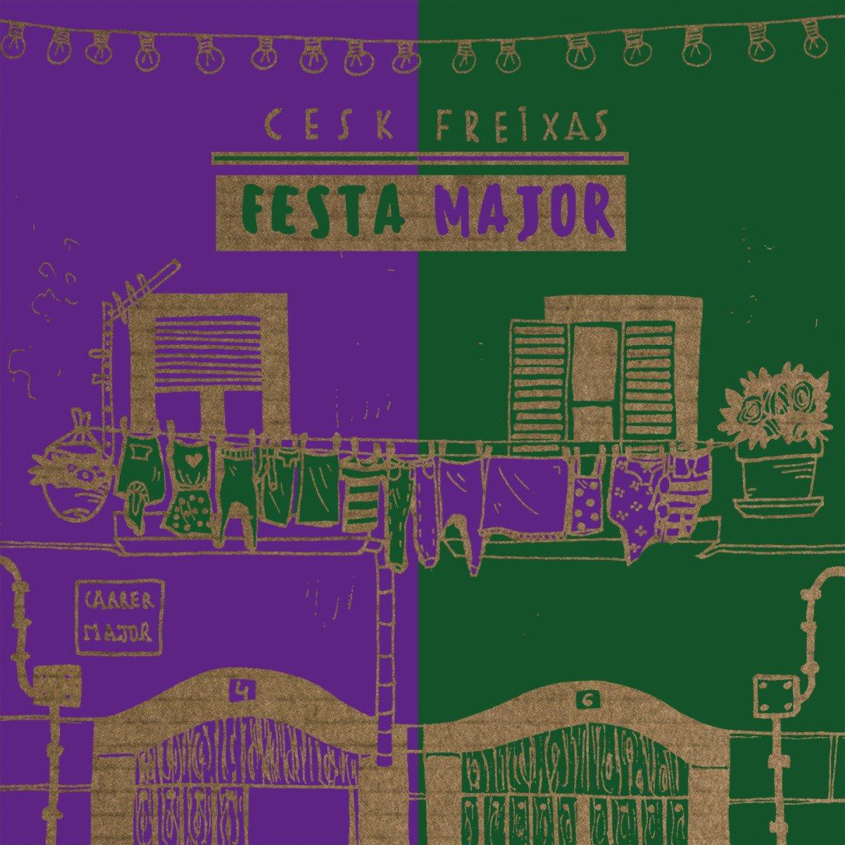 El trabajo de @ceskfreixas #FestaMajor dedica a cada canción un momento de la celebración. Así es uno de ellos, #Cercavila http://ow.ly/scFk50qBuGx