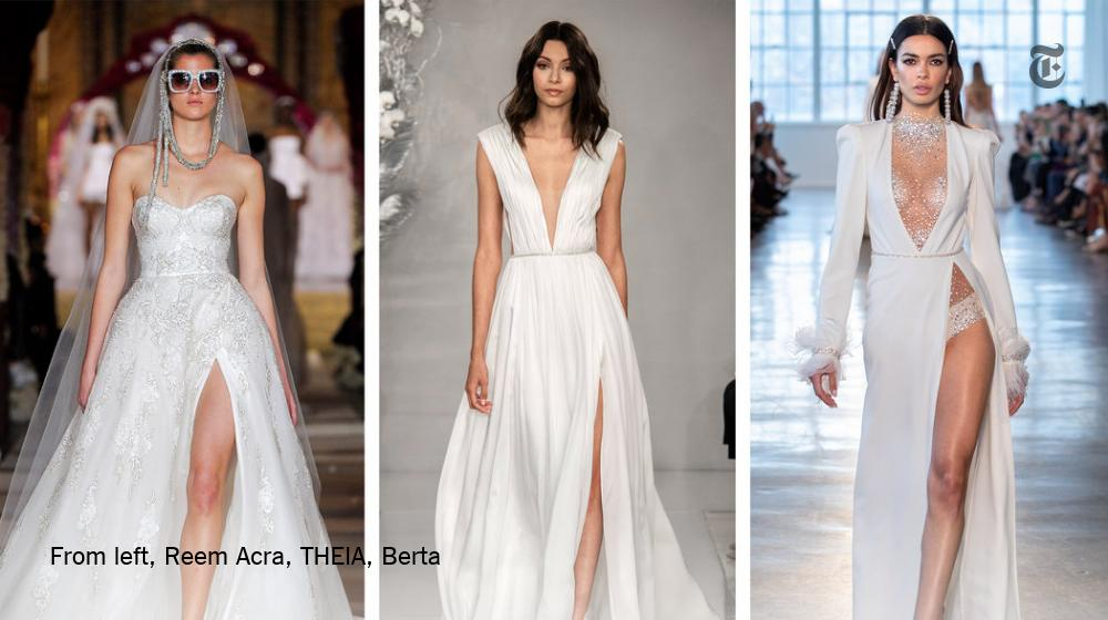 a47d92e71bc2e NY Times Weddings @nytimesvows. Bridal designers ...