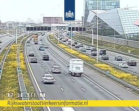 Main lane A2 open again after chain collision at Utrecht