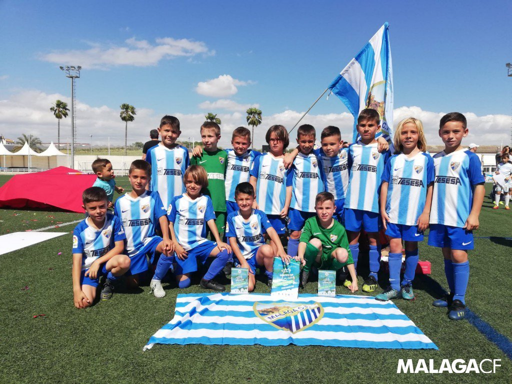 ACADEMY| The Prebenjamín boys are proclaimed champions of the Gañafote Cup! 🏆  🧒 Congratulations to the youngest team in the #MCFAcademy! 🤗  Check out the info ➡️ http://bit.ly/2UIQg2s