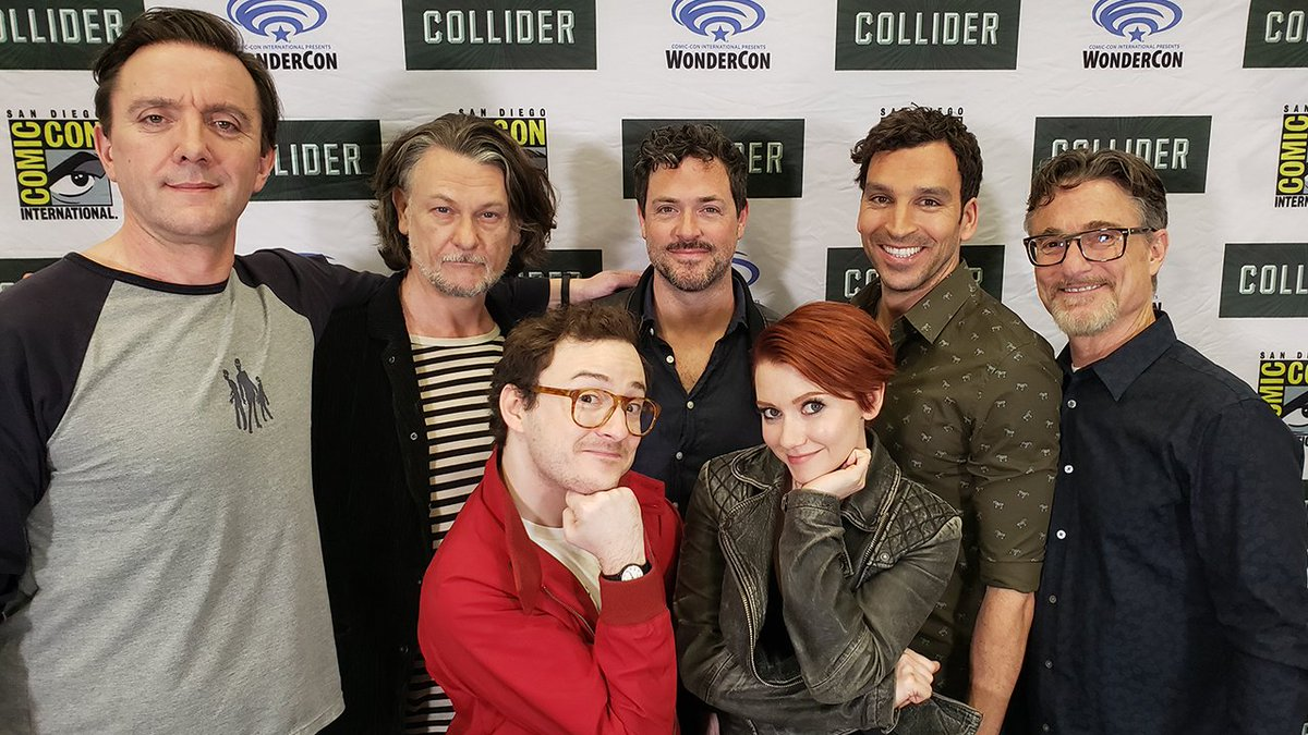 #TheTick cast and creators on Season 2 and if @JeffBezos watches the show.  https:// bit.ly/2XiFufZ  &nbsp;  <br>http://pic.twitter.com/6KnKUH7GRn