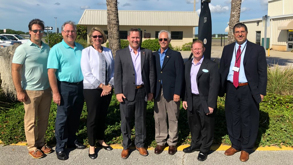 Air travel remains essential to our economic success and I'm committed to ensuring our @CityofNSB Airport is receiving what it needs from the Federal Aviation Administration, Transportation Security Administration, and other federal agencies.