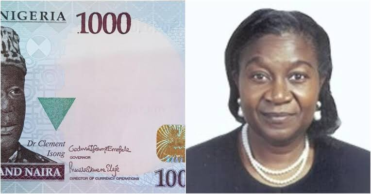 Eleje Makes History, Signs Naira Note