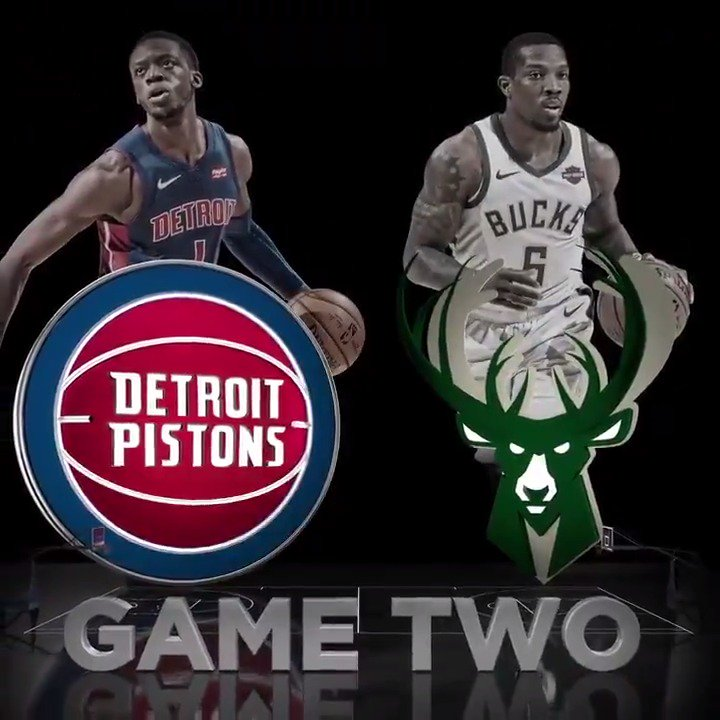 Detroit Pistons @DetroitPistons