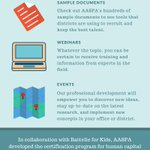 Image for the Tweet beginning: AASPA represents a network of
