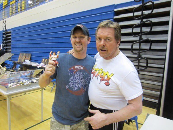 """Happy birthday to the late, great \""""Rowdy\"""" Roddy Piper."""