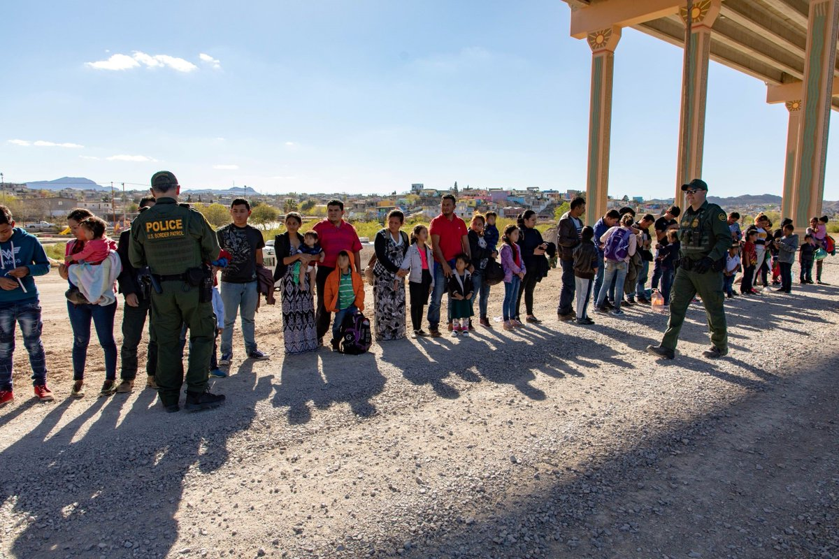 418,000+ APPREHENSIONS. In 6.5 months, the #BorderPatrol has already surpassed FY2018 total apprehensions. 414,000+ apprehensions along the Southwest border so far this year.