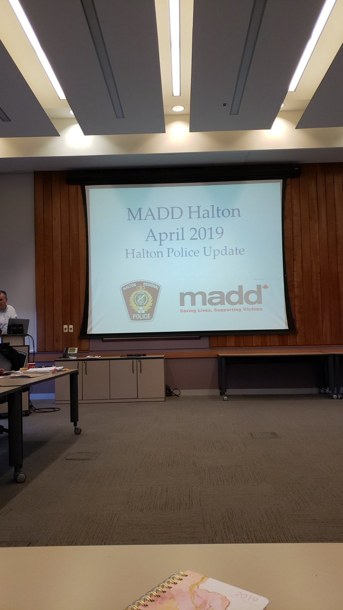 Our monthly board meeting is about to get underway! ✌#maddhalton #stopimpaireddriving
