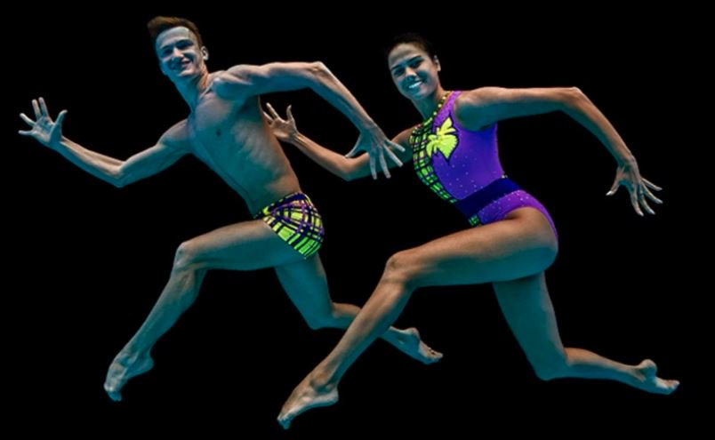 Could we see mixed synchronised swimming at the Olympics?   Aleksandr Maltsev, Russia's first male synchronised swimmer fighting for gender-equality in the sport. 🏊‍♂️  🎥 Watch 👉 http://bbc.in/2V1Qocv    #GetInspired