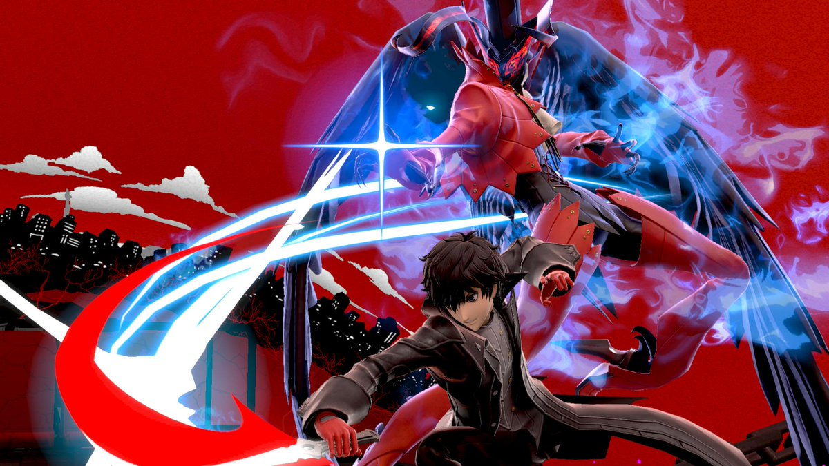 ee303ad9912b5 Excited to play as Joker from  Persona 5 in Super  SmashBrosUltimate   Before you get started