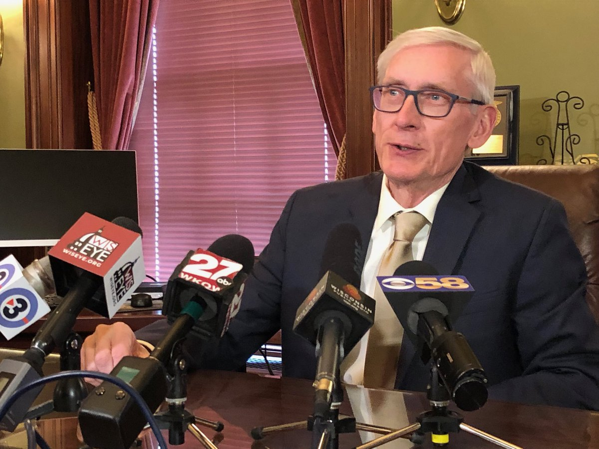 """.@GovEvers says it's """"unrealistic"""" to think Foxconn will employ 13,000 people given the scaled back factory it now plans to build, says state is looking at revising the contract"""
