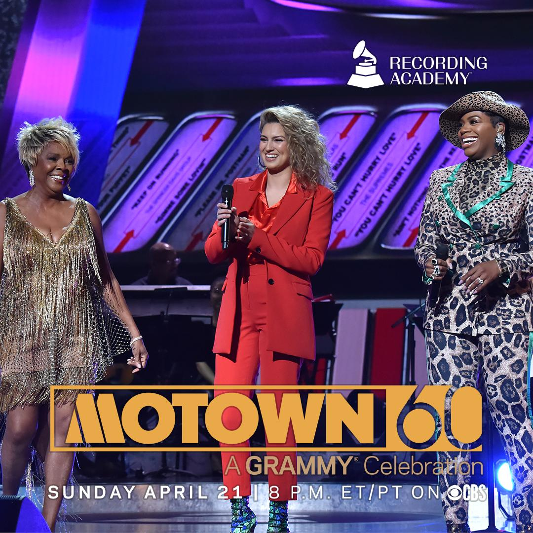 I am thrilled to join in celebrating 60 years of @motown Records' iconic sound and it's legacy. @RecordingAcad's MOTOWN 60: A GRAMMY Celebration airs on Sunday, April 21, 8 ET/PT, on the @CBS .<br>http://pic.twitter.com/aVSVKqFz4H