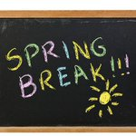 Image for the Tweet beginning: Spring break for both students