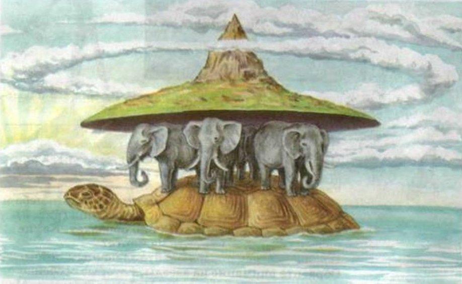 плоская земля картинки со слонами сегодня мне хотелось