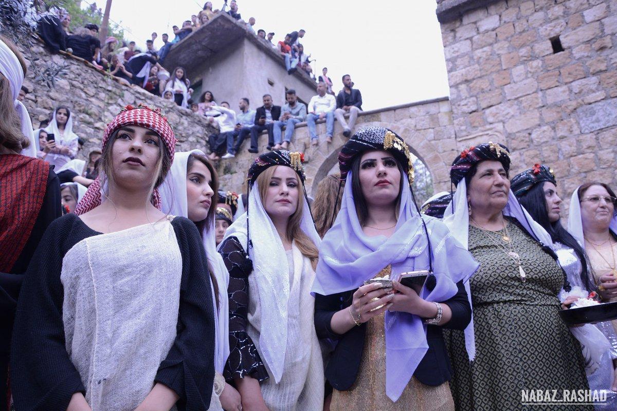#Yazidis celebrated their #YazidiNewYear in peace #Kurdistan