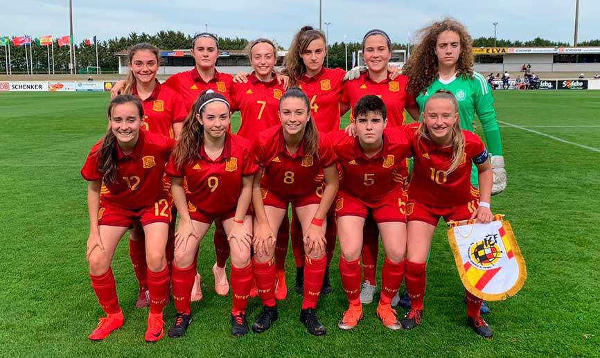 ACADEMIA| ¡¡Enhorabuena a nuestra jugadora del #MCFFCadete Ornella Vignola por su debut con la @SeFutbolFem sub-16!! 🎉  ¡¡Felicidades campeona!! 💪  #CanteraMalaguista💙 #SomosMálaga