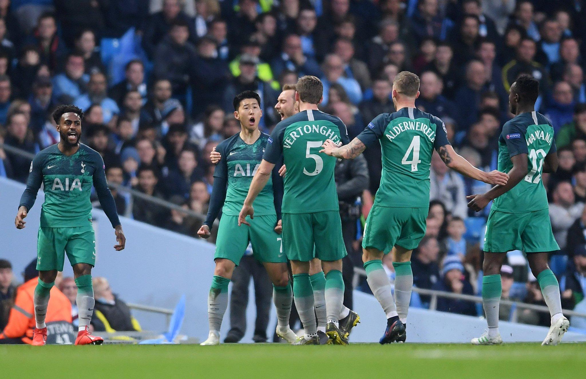 مباراة مانشستر سيتي وتوتنهام تشهد 4 أهداف في أول 10 دقائق فقط !